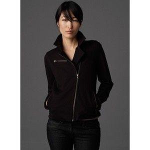 brand new Eileen Fisher moto bomber jacket